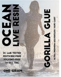 Ocean Live Resin Gorilla Glue