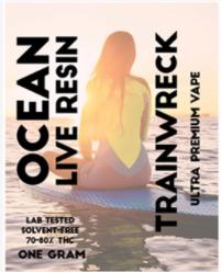 Ocean Live Resin Trainwreck